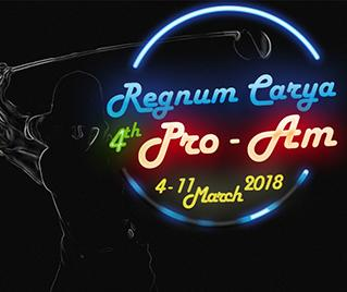 Bilyana Golf - Regnum Carya Pro-Am 2018 Golf Tournament