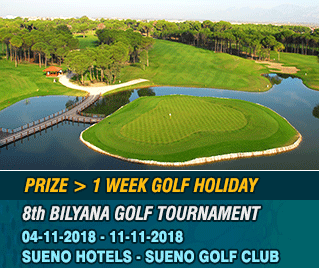 Bilyana Golf - The Bilyana 8th International Open Tournament 2018