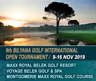 Bilyana Golf - 9th Bilyana Golf International Open Tournament 2019