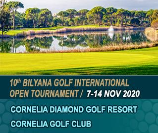 Bilyana Golf - 10th Bilyana Golf International Open Tournament 2020