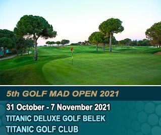 Bilyana Golf - 5th GOLF MAD OPEN 2021