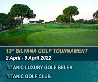Bilyana Golf - 12th Bilyana Golf International Open Tournament 2022